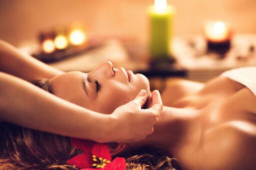 Thajská masáž obličeje