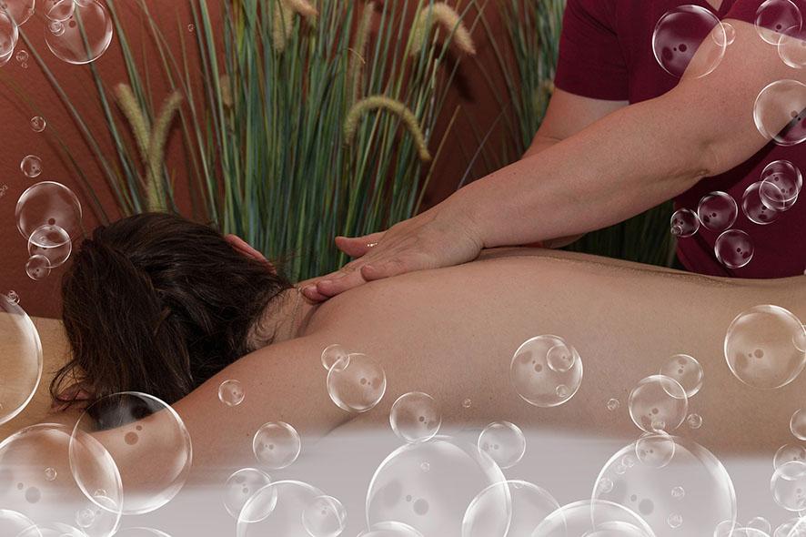 Speciální omlazující masáž